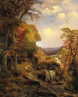 On the Wissahickon near Chestnut Hill, 1870, moran