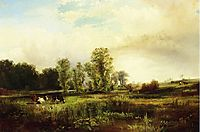 Summer Landscape with Cows, 1856, moran