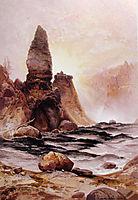 Tower Falls, Yellowstone, 1876, moran