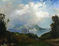 View of Fairmont Waterworks, Philadelphia, 1860, moran