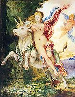 The Abduction of Europa, c.1869, moreau