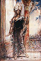 An Arabian Singer, 1884, moreau
