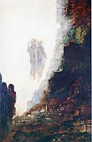 The Angels of Sodom, c.1890, moreau