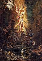 Apollo Vanquishing the Serpent Python, c.1885, moreau