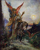 Arabian Poet (Persian), 1886, moreau