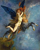 The Chimera, 1867, moreau
