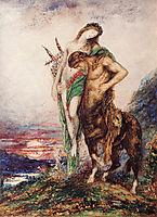 The Dead Poet Borne by a Centaur, 1890, moreau