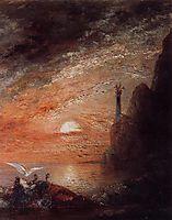 The Death of Sappho, 1876, moreau