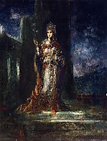 The Fiancee of the Night (The Song of Songs), c.1892, moreau