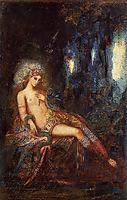 Goddess on the Rocks, c.1890, moreau
