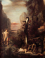 Hercules and the Hydra, 1876, moreau