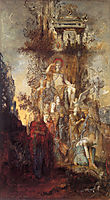 The Muses Leaving Their Father Apollo to go and Enlighten the World, 1868, moreau