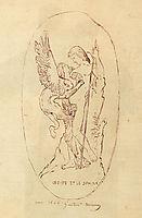 Oedipe Et Le Sphinx, 1864, moreau