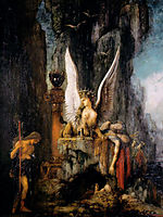 Oedipus the Wayfarer, 1888, moreau