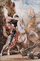 Saint George, 1869, moreau