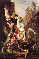 Saint George, 1890, moreau