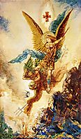 Saint Michael Vanquishing Satan, c.1882, moreau