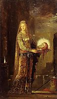 Salome Carrying the Head of John the Baptist on a Platter, c.1876, moreau