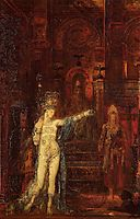 Salome dancing before Herod, c.1875, moreau