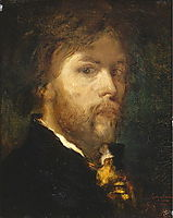 Self-Portrait, 1850, moreau