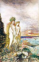 The Sirens, c.1872, moreau