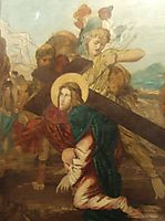 Third Station of the Cross, moreau
