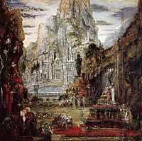 The Triumph of Alexander the Great, 1892, moreau