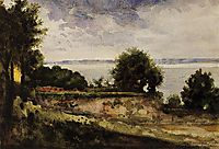 View of the Garden of Madame Aupick, Mother of Baudelaire, c.1864, moreau