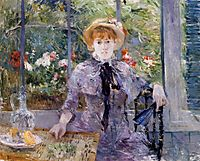 After Luncheon, 1881, morisot