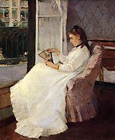 The Artist-s Sister at a Window, 1869, morisot