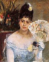 At the Ball, 1875, morisot