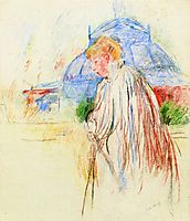At the Exposition Palace, morisot