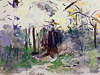 Autumn in the Bois de Boulogne, c.1884, morisot