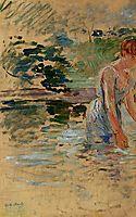 The Bath at Mesnil, 1892, morisot