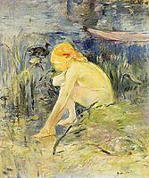 Bather, 1891, morisot