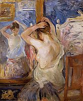 Before the Mirror, 1890, morisot