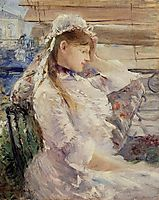 Behind the Blinds, 1879, morisot