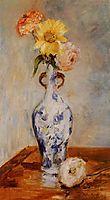The Blue Vase, 1888, morisot