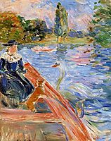 Boating on the Lake, 1892, morisot