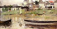 Boats on the Seine, 1880, morisot