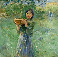 The Bowl of Milk, 1890, morisot
