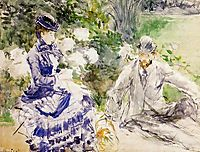 By the Water, 1879, morisot