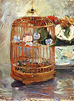 The Cage, 1885, morisot