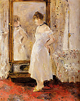 The Cheval Glass, 1876, morisot