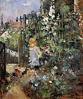 Child in the Rose Garden, 1881, morisot