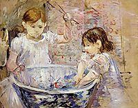 Children at the Basin, 1886, morisot