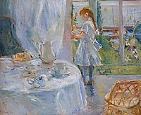 Cottage Interior (also known as Interior at Jersey), 1886, morisot