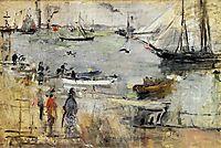 English Seascape, 1875, morisot