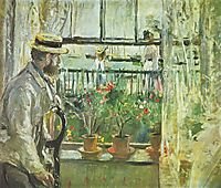 Eugene Manet on the Isle of Wight , morisot