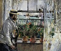 Eugene Manet on the Isle of Wight, 1875, morisot